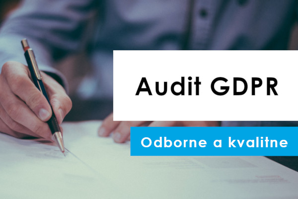 Audit GDPR Domov Avris Consulting