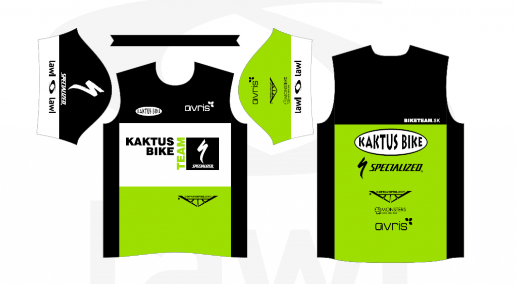 Avris Kaktus Bike Podporujeme
